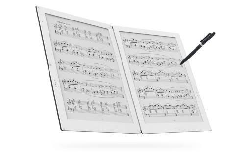 雙面電子紙平板Gvido即將上市 以後不用再揹厚重樂譜了