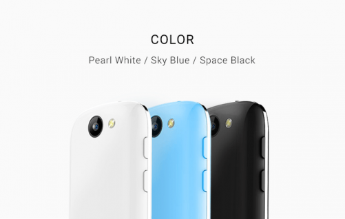 麻雀雖小五臟俱全 最迷你的4G手機 Jelly 亮相