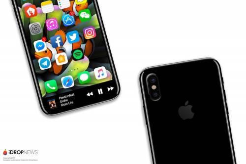 iPhone 8渲染圖再次曝光 將Touch Bar整合到滿版大尺寸OLED中 一點違和感也沒有