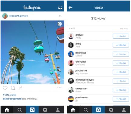 你的影片有多少人看 Instagram 將開放瀏覽數告訴你