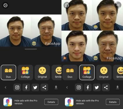 FaceApp變臉App 無論變老變年輕 只要一秒就能搞定