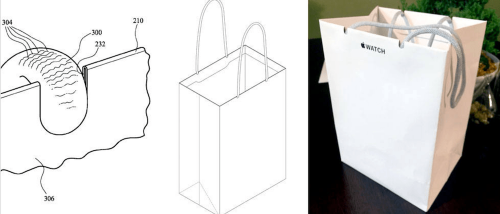 蘋果專利無極限 就連購物用紙袋都有專利