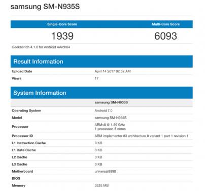 三星Galaxy Note 7R即將上市 傳共有兩種處理器版本