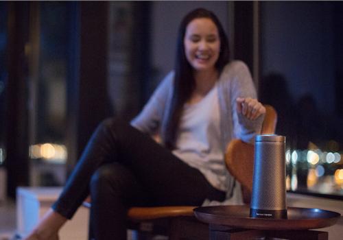 內建Cortana語音助手 harman kardon Invoke發表亮相