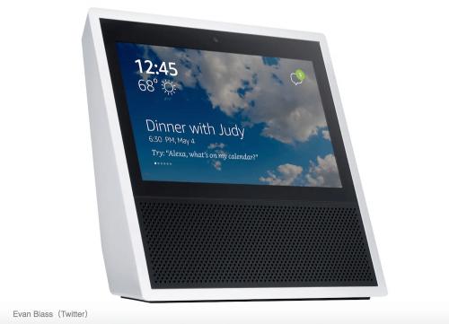 帶有7吋觸控螢幕的Amazon Echo 最快將於6月底上市