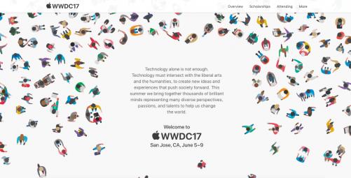 [快訊] APPLE 釋出WWDC 2017邀請函 6月5日正式登場