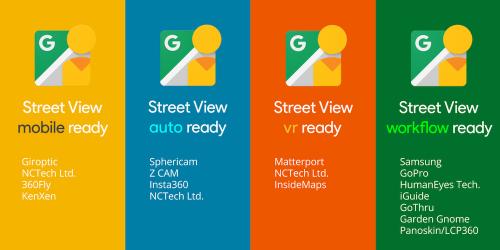 針對環景相機拍攝影像 Google推出Street View ready認證計畫