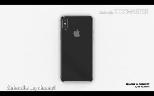 iPhone 8非官方外型渲染影片曝光 外型質感美的不要不要的