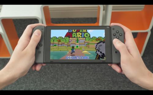 當個創世神Minecraft 數位版本於Nintendo Switch平台上熱賣中