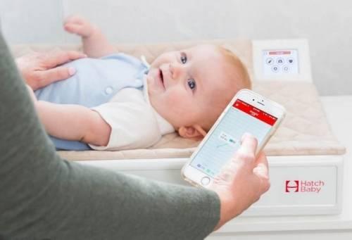 加入了體重紀錄的智慧尿布台 讓爸媽不再錯過寶寶的成長