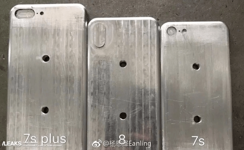 iPhone 7s 7s Plus 8模具曝光