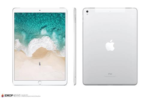 傳蘋果將在WWDC 2017中推出兩款新版iPad Pro?