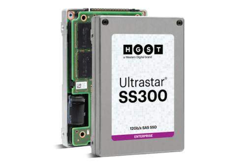 Western Digital以HGST品牌新一代Ultrastar SAS SSD系列 樹立業界新標竿