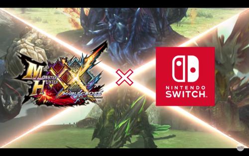魔物獵人XX Nintendo Switch版本 於魔物獵人頂上大會正式發表