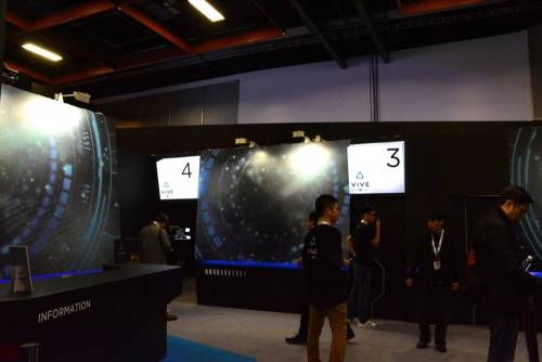 2016台北電玩展很VR Sony PS VR HTC Vive Pre實際體驗感受