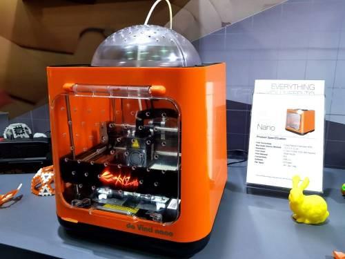 3D列印更趨成熟 XYZprinting 推出安全輕巧Nano款