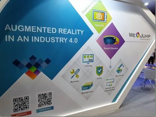 We JUMP AR 偕同亞東石化 打造工業 4.0 AR 廠房