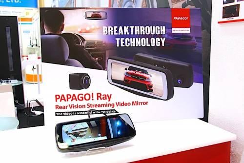 PAPAGO Ray 提供駕駛更寬廣的車身後方視野