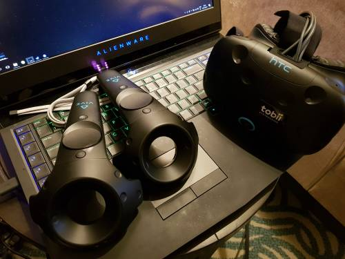 Tobii 透過 Vive 展示最新的眼球追蹤技術
