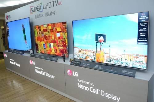 LG 全新 Nano Cell 技術 打造大視角低色偏電視 SUPER UHD TV 新品登台