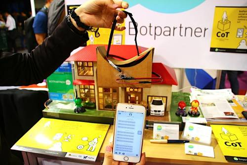 Botpartner展示CoT技術 透過通訊軟體就能控制IoT家電