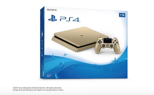 E3大展即將展開 傳Sony將推出1TB金黃色 PS4 Slim