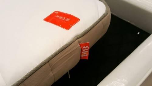 小米眾籌紅星8H乳膠床墊 第一波出貨開箱