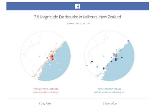 方便救災人員救災 Facebook 推出災難地圖