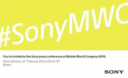 Sony發出邀請函 2月22日MWC上新品發表確定