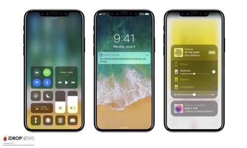 iPhone 8 運行iOS11畫面曝光 看起來非常順眼