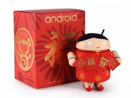 猴年到 限量Android 公仔帶著Golden Ticket來拜年