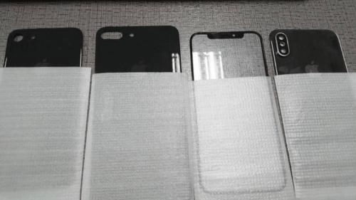 iPhone 8 螢幕玻璃與背蓋曝光 同場加映iPhone 7s 7s Plus背蓋