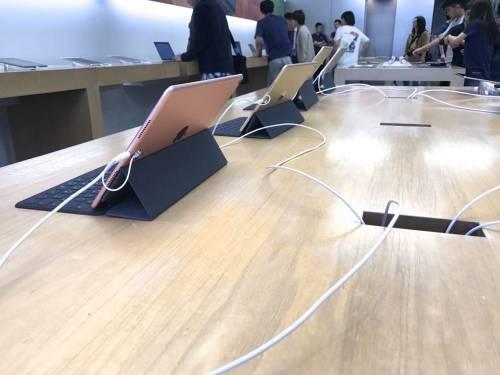 Apple Store直擊 iPad Pro 10.5 吋日本開賣