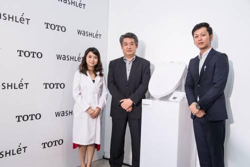 日本百年衛浴領導品牌 TOTO 深耕台灣市場30年 帶動最溫柔而堅定有力的洗淨革命