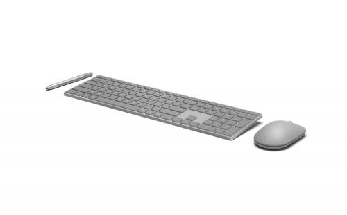 微軟 推出具備指紋辨識的Modern Keyboard及圓潤造型的Modern Mouse