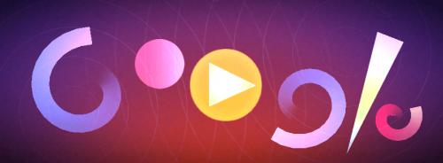 [Google Doodle] 抽象派動畫大師 Oskar Fischinger 奧斯卡·費欽格117 歲冥誕
