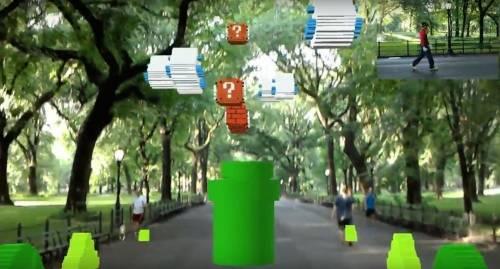 美夢成真!微軟HoloLens將玩家變成 Super Mario