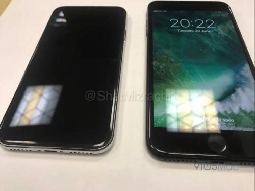 iPhone 8 再次曝光 與iPhone 7 Plus相比明顯小了一號