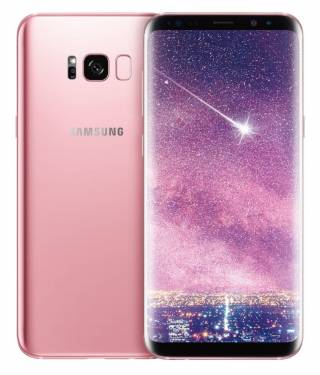 Samsung Galaxy S8+ 粉嫩出擊 「瑰蜜粉」閃耀上市