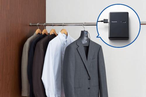 讓衣物擺脫惱人的異味 Panasonic MS-DH100 除臭衣架
