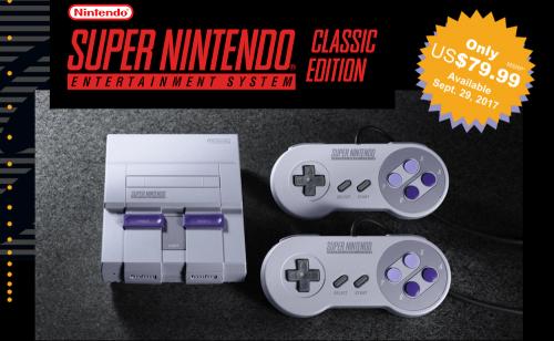大玩復刻風 任天堂預計九月推出 SNES 迷你遊戲主機