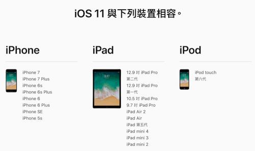 iOS 11 與macOS High Sierra tvOS 即日起啟動公測