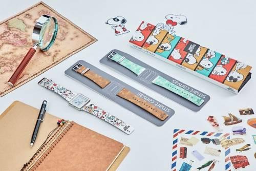 Epson電子紙錶 Smart Canvas 加入小白熊與史努比兩大明星
