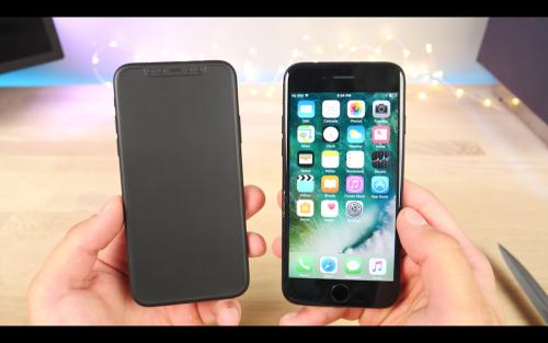 iPhone 8 模型機曝光 機身尺寸與iPhone 7相近