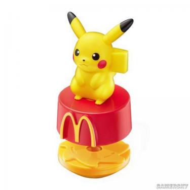 好可愛!日本麥當勞推出 Pokemon 公仔