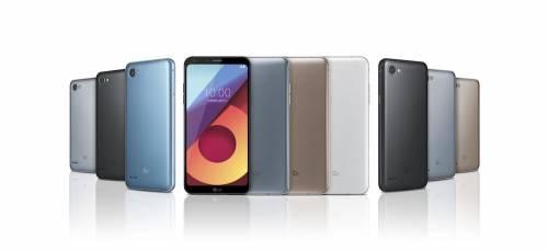 LG Q6 系列中階手機發表 具備18:9 FullVision螢幕