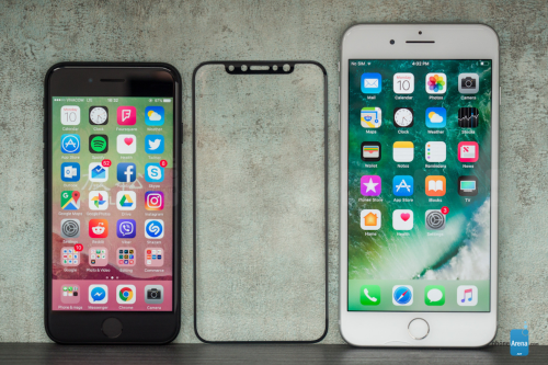 iPhone 8 螢幕保護貼曝光 將搭載5.7吋螢幕