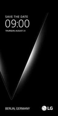 新品發表會邀請函曝光 LG V30 預計8月31日正式發表