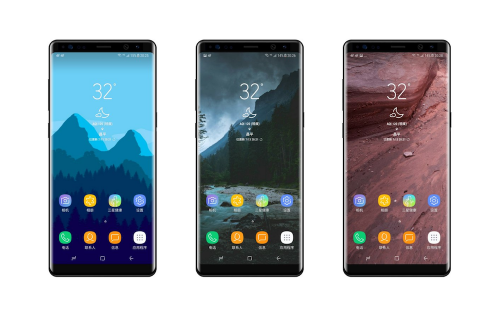 Galaxy Note 8 外型曝光 同場加映螢幕玻璃