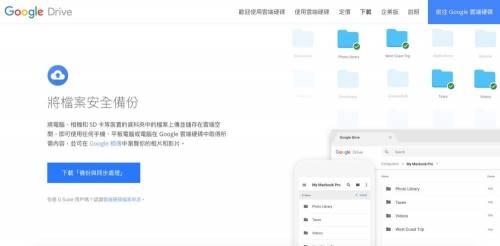 Google新工具「Backup and Sync」 提供Mac Windows同步備份新選擇